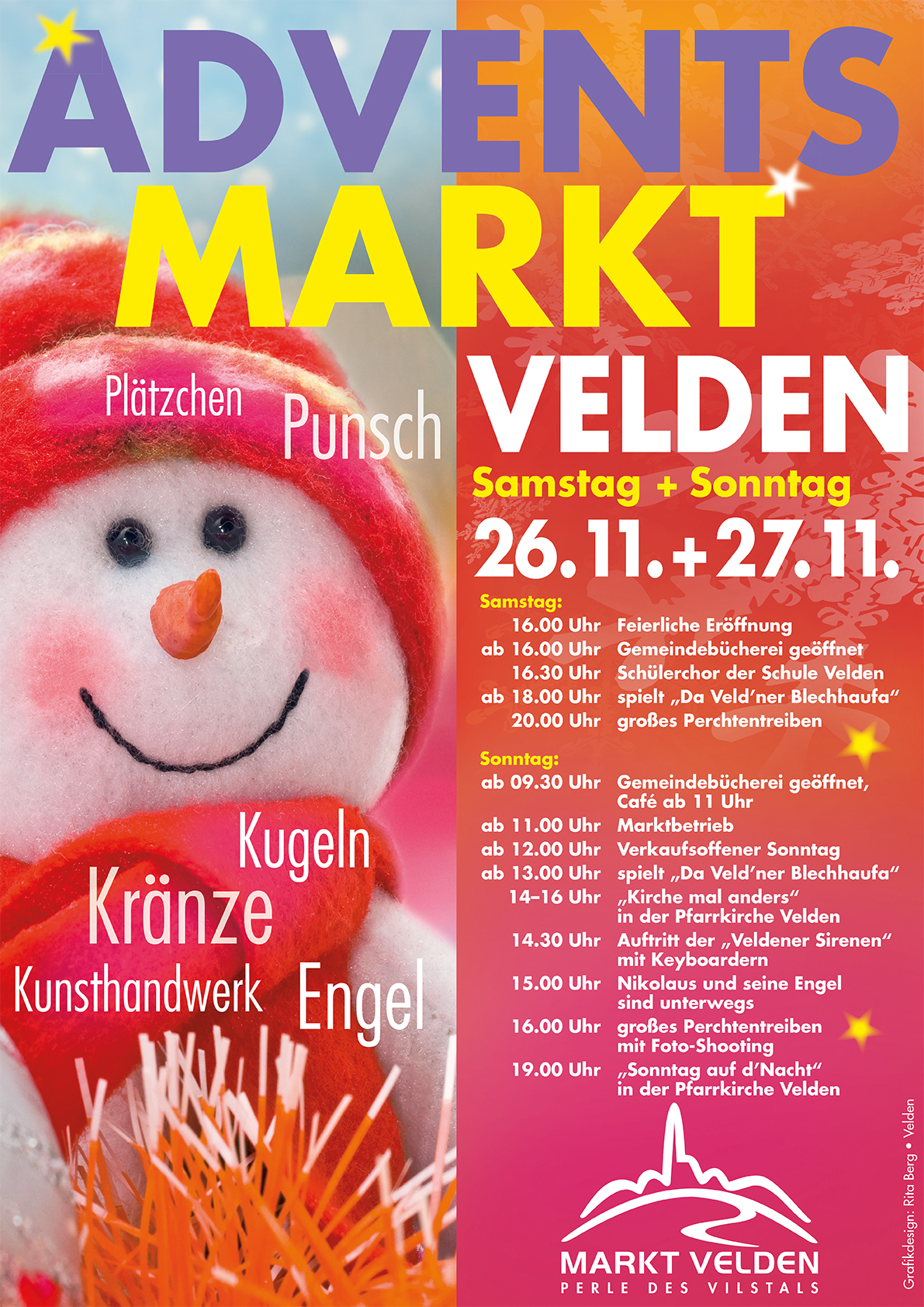 Plakat Adventsmarkt 2016